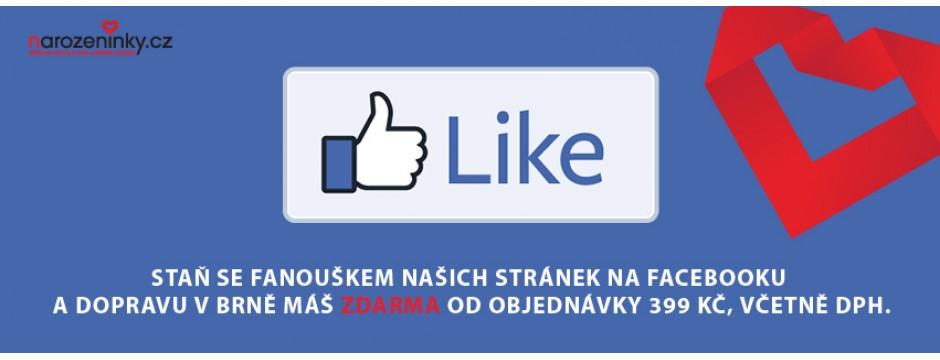 Facebook doprava zdarma