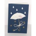 Blahopřání - 40 - bílý deštník