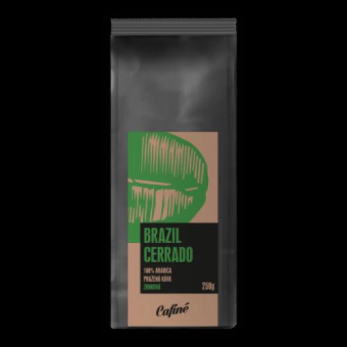 Káva Brazil Cerrado 250g mletá