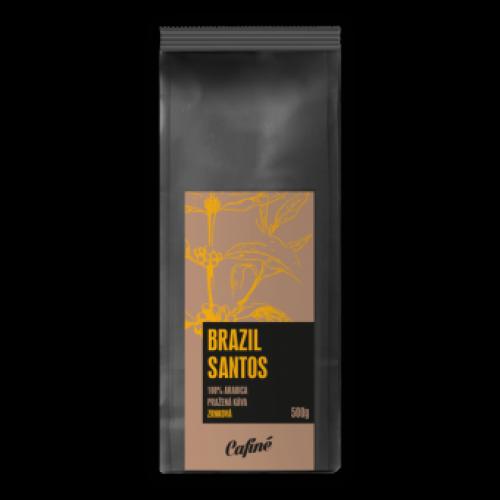 Káva Brazil Santos 1000g - zrnková čerstvě pražená