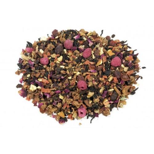 BRUSINKY S RAKYTNÍKEM - ovocný čaj - 500 g