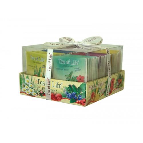 Tea of Live - Fruit & Herbal Tray - ovocné a bylinné čaje
