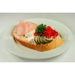Se šunkou a vejcem chlebíček - vlašský s. - 110 g