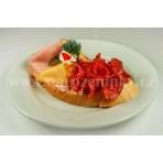 Zámecký chlebíček na česnečce - pom. - 95 g