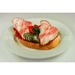S anglickou slaninou chlebíček - pom. - 80 g