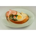 S debrecínskou pečení chlebíček na másle - 80 g