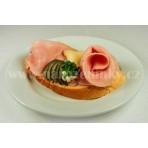 Šunkový salám chlebíček - bramborový s. - 80 g