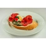 Chlebíček Vysočina na másle