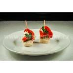Chuťovka - jednohubka s paprikášem