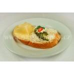 Sýrový chlebíček klasik na másle
