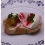 Mini chlebíček se šunkou 45g
