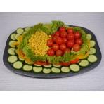 Zeleninová obložená mísa - 1,5 kg