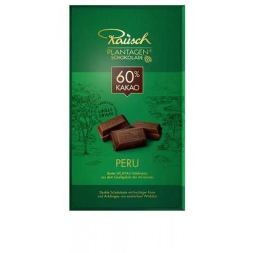 Plantážní HOŘKÁ čokoláda PERU 60% kakaa 250g
