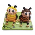 Dětský dort - Včelí medvídci