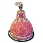 Svatební dort - Nevěsta s krémem