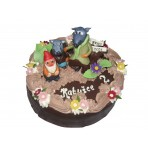 Dětský dort s Krysáky