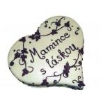 Dort z lásky - Srdce s marcipánovou dekorací