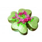 Dort z lásky - Zlatý čtyřlístek s růžemi