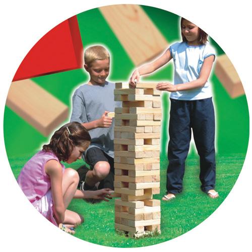 Dřevěné hračky - Dřevěná hry - Velká jenga