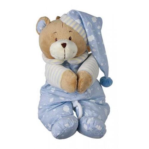Plyšová hračka pro nejmenší - Hrací medvídek