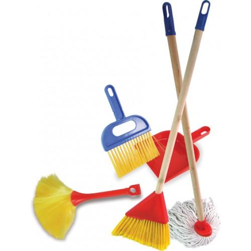 Dřevěné hračky Vilac - Sada nářadí pro úklid