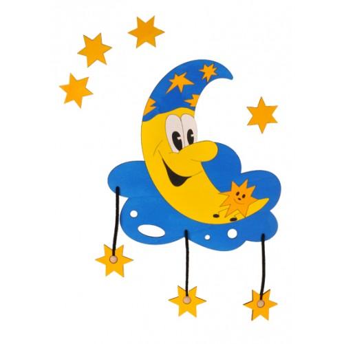 Dětská lampička - Měsíček