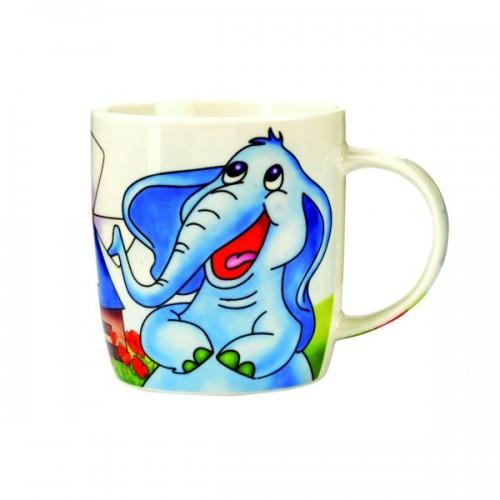 Porcelánový hrneček - Slon