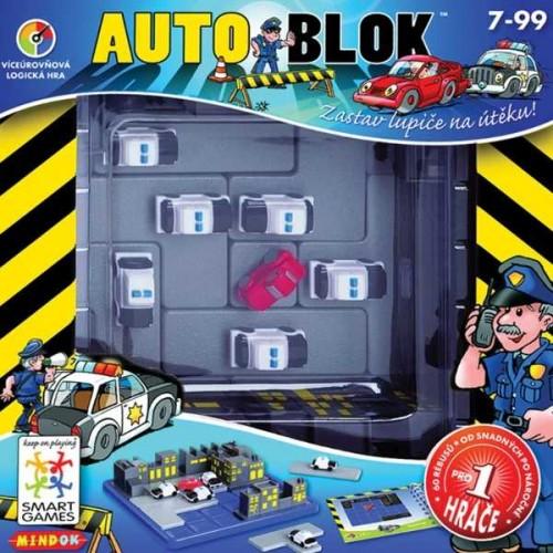 Dětské hlavolamové smart hry - Autoblok