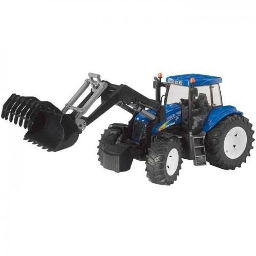 Bruder - Traktor NEW HOLLAND + čelní nakladač