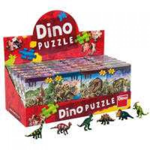 Papírové puzzle 60 dílků Dinosauři + figurka