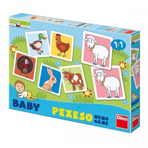 Dětské hry - Baby pexeso domácí zvířátka