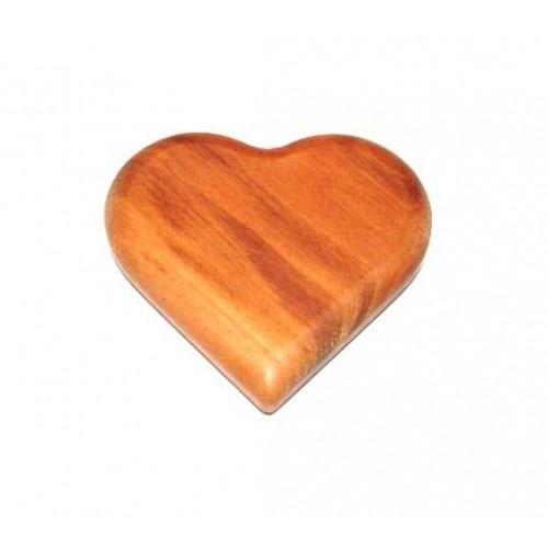 Dřevěné magnetky - Srdce velké