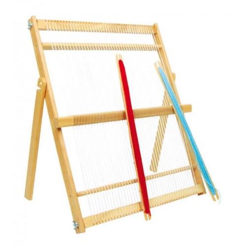 Dřevěné hračky - Tkalcovský stav Maxi