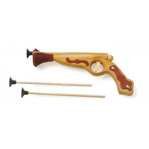 Dřevěné hračky pro kluky - Pirátská pistole Hook