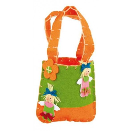Dětská filcová kabelka - Marie