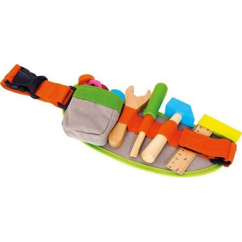 Dřevěné hračky - Pás na nářadí