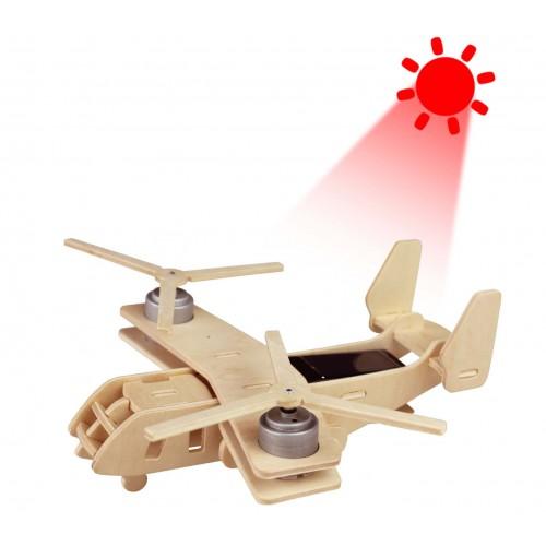 RoboTime - Vojenské solární letadlo Konvertoplán Osprey V22