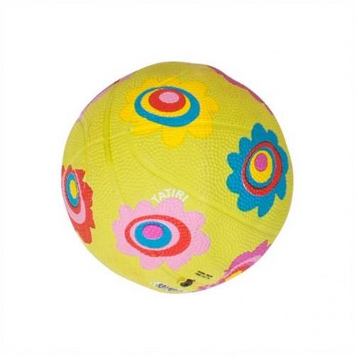 Tatiri fotbalový gumový balón - květiny