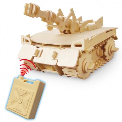 RoboTime - Stavebnice tank na dálkové ovládání - V200