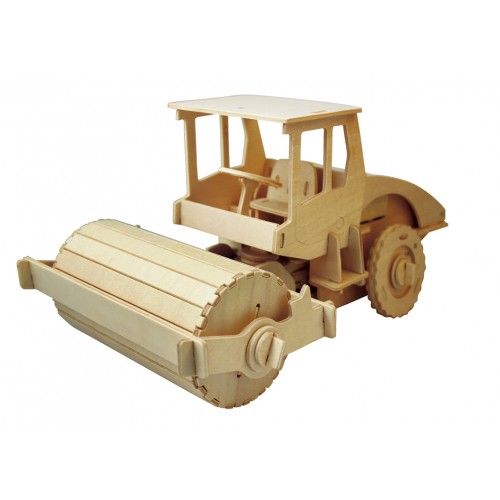 RoboTime - Dřevěná stavebnice - válec na dálkové ovládání