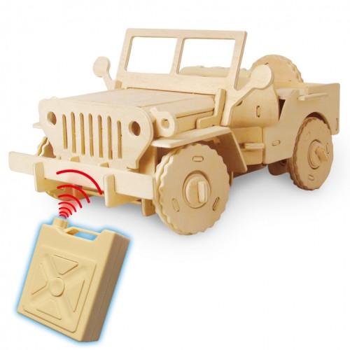 RoboTime - Stavebnice RC Jeep na dálkové ovládání - V400
