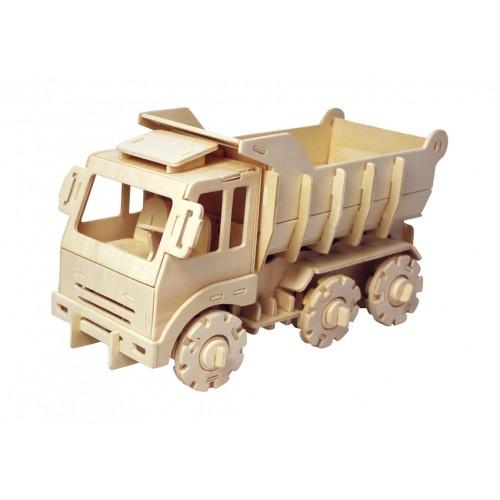 RoboTime - Dřevěná stavebnice - náklaďák na dálkové ovládání
