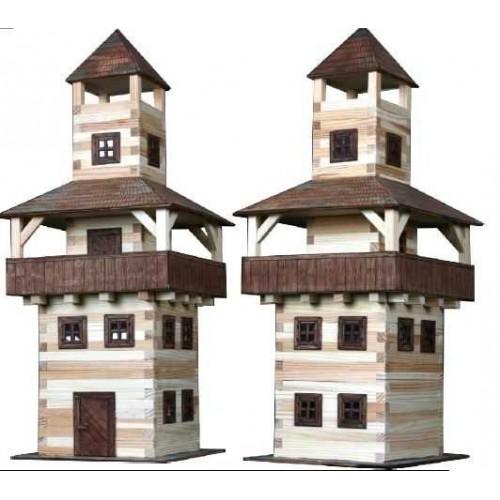 Dřevěná slepovací stavebnice Walachia Věž