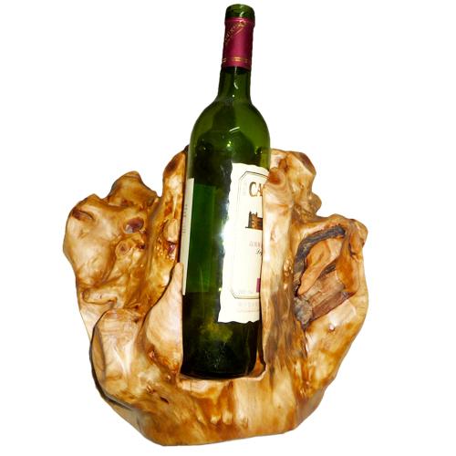 Sibiřská jedle - Stojan na víno malý
