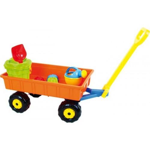 Hračky na písek, sada Vozík