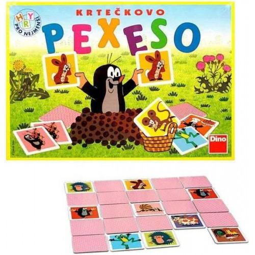 Dětské hry - Pexeso velké Krteček