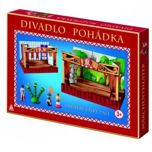 Dřevěné hračky - dětské divadlo - Pohádka