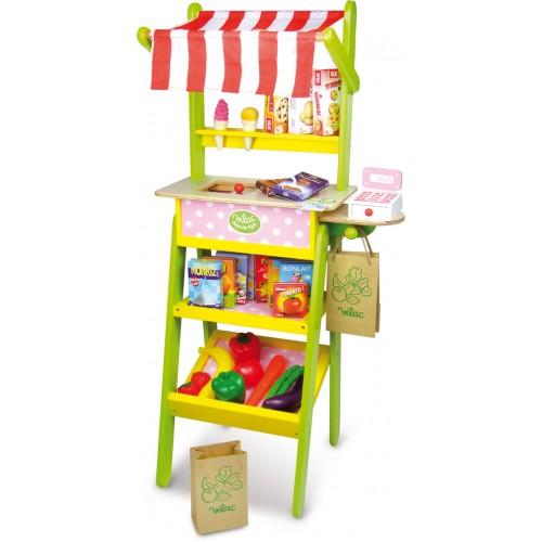 Vilac dětský dřevěný prodejní stánek