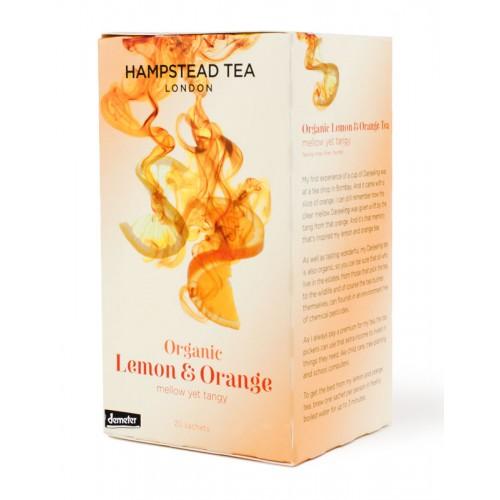 BIO černý čaj citron & pomeranč 20ks
