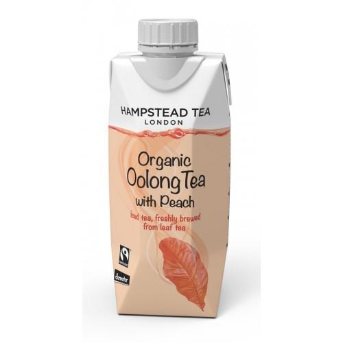 BIO ledový čaj Oolong s broskví 330ml